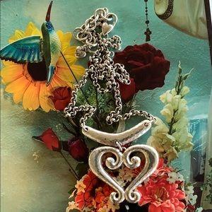Brighton Genoa heart necklace.